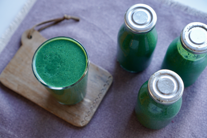 Grön smoothie_spirulina